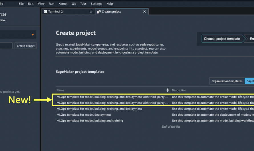 Create Amazon SageMaker projects using third-party source control and Jenkins